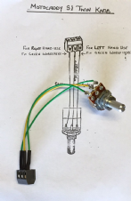 Potentiometer for Motocaddy S1 Analogue (2007)